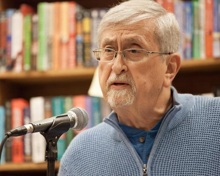 Roy Beckemeyer Reading at Raven Bookstore Lawrence KS Oct 2016