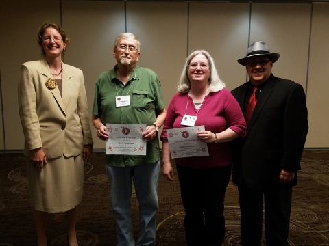 2016 KAC POet and Prose Writers of Year Wendy Devilbiss Roy Reaonna MIke Graves
