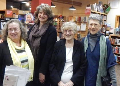 Denise Low - Kathryn Kysar - Diane Wahto - Jeanine Hathaway at Watermark Books WSU Women MFA Reading