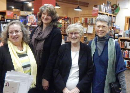 Denise Low - Kathryn Kysar - Diane Wahto - Jeanine Hathaway at Watermark Books WSU Women MFA Reading