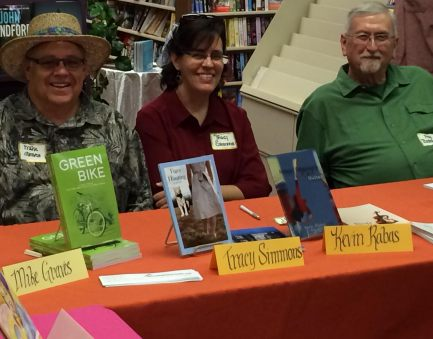 Emporia Town Crier Author EXravaganza JUne 2015 Graves Miooion Simmons Beckemeyer