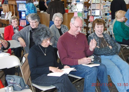 Nov 5 2011 Watermark Helen Virginia Pat and Pat Dixie