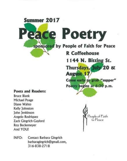 Peace Poetry Reading 2017