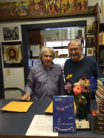Warren Farha and Roy at Eighth Day 1