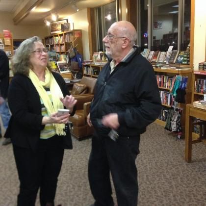 Denise Low and Albert Goldbarth Watermark Books