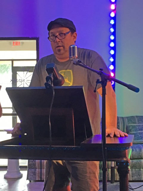 Jason Ryberg at SPARK Artist Resource Exchange Salina KS 22 August 2019