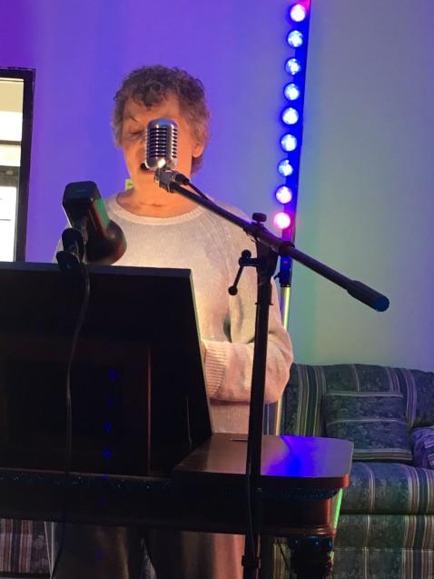 Pat Beckemeyer at SPARK Artist Resource Exchange Salina KS 22 August 2019