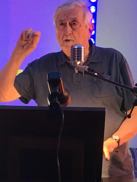 Roy Beckemeyer at SPARK Artist Resource Exchange Salina KS 22 August 2019